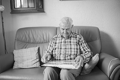 Een Mooi Cadeau Voor Ouders Een Portretfoto De Senioren